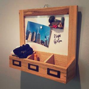 Michals 🤠 wooden dry erase board